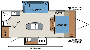 Small Travel Trailer Floor Plans by 2016 Spree Connect C232iks Lightweight Travel Trailer K Z Rv