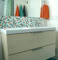 tiles bathroom sink tile backsplash ideas the bathroom is