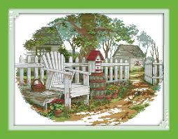Country Cottage Cross Stitch Online Buy Wholesale Country Cottages From China Country Cottages