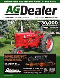 agdealer western ontario edition october 2014 by farm business