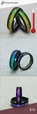 titanium colored rings images Mood ring color meanings mood ring colors and meanings chart jpg