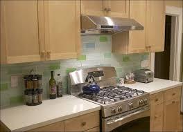 Kitchen  Backsplash With White Cabinets Peel And Stick Glass Tile - Backsplash glass panels