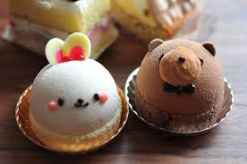 cute desserts cute bunny and bear this describes the relationship between my
