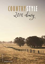 country style 2018 diary magsonline