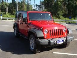 Jeep Wrangler Red Jeep Wrangler For Sale Carmax