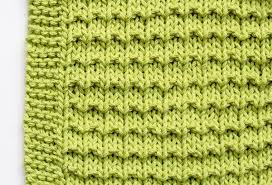 free knitting patterns how to make a washcloth mollie makes