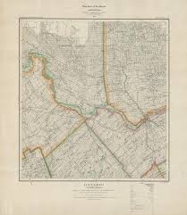 Map Of Ottawa Topographic Maps