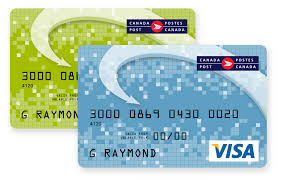 reloadable credit card visa and phone prepaid cards canada post