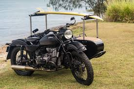 boxer dog on motorcycle aircraft designer builds a ural for his dog and surfboard bike exif