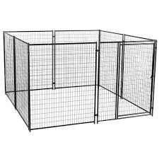 cl l home depot lucky dog 6 ft h x 10 ft w x 10 ft l modular kennel cl 69150