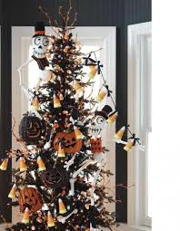 black halloween tree halloween decorations for office homemade