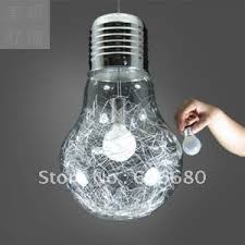 free shipping european modern creative glass bulb pendant light