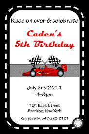 race car birthday invitation template free u2013 orderecigsjuice info