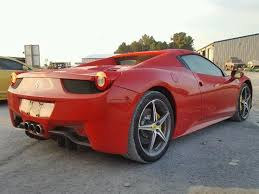 458 spider rear auto auction ended on vin zff68nha1e0196441 2014 458