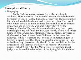 emily dickinson biography death i cannot live with you emily dickinson