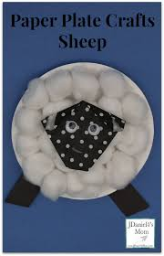 plate crafts for kids sheep