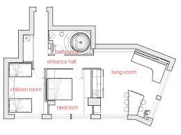 Living Room Architecture Drawing Futuristic Interior Design