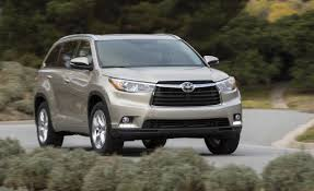 toyota highlander vs nissan pathfinder 2014 toyota highlander first drive u2013 review u2013 car and driver