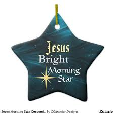 jesus morning customized ornament jesus ornaments