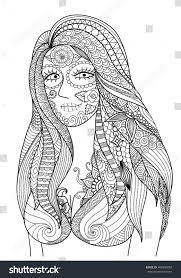 doodle design dress halloween stock vector 468999680