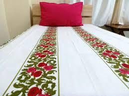 Tibetan Home Decor Mini Floral Single Bedsheet Set 2 2 Tibetan Home Decor