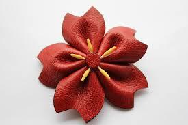 leather hair accessories flower hair accessories handmade hair accessories bow barrettes