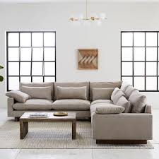 west elm harmony sofa reviews harmony down filled l shaped sectional west elm