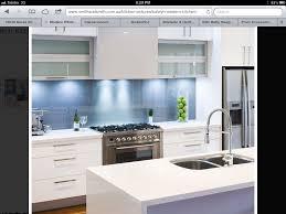 modern kitchen splashback kitchen with blue splashback by smithandsmith com au dream house