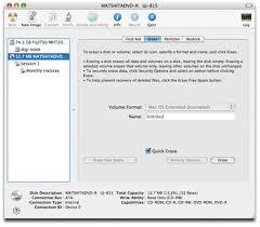 format dvd r mac erasing a cd rw or dvd rw the mac observer