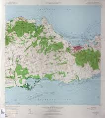 map st croix u s islands topographic maps perry castañeda map