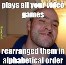 Greg Meme Images - good guy greg and video games meme by handelz memedroid