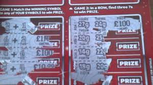 Lottery Instant Wins - lottery scratch cards big win must see youtube