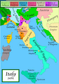 Maps Of Italy File Italy 1494 Ad Png Wikimedia Commons