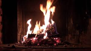 romantic christmas fireplace perfect burning u0026 crackling logs