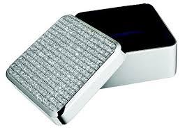 wedding gift jewellery momentz silver jewellery box square shape marriage gift