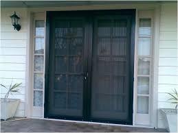 Screen For Patio Door Patio Door Security Gate For Residential Applications Home Doors