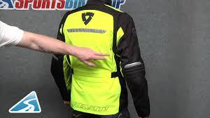 yellow motorcycle jacket rev u0027it energy hv motorcycle jacket neon yellow youtube