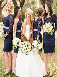 navy bridesmaid dresses navy blue bridesmaid dress one sleeve bridesmaid dress
