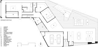 Outdoor Living Floor Plans by Gallery Of Stealth House Teeland Architects 15
