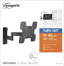 wall mount for 48 inch tv wall 3145 full motion tv wall mount black