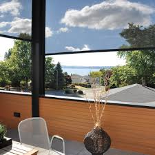 Retractable Awning With Screen Retractable Awnings And Screens Rainier Shade