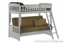 Sofa Bunk Bed White Bunk Bed Sofa Wood Futon Bunk Sofa Bed White The Futon Shop