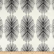 Black And White Valances Screen Printed On A Cotton Linen Blend This Versatile Heavyweight