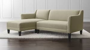 Who Makes Crate And Barrel Sofas Margot Mid Century Apartment Sofa Crate And Barrel