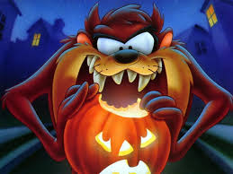 jackolantern screensavers cartoons wallpaper taz halloween halloween pinterest