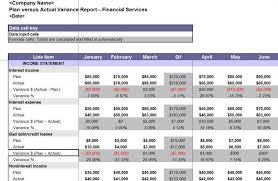 sample excel report template