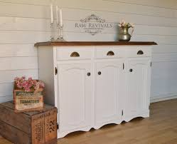 Country Buffet Furniture by French Provincial Country Style Hand Painted Buffet Upcycled
