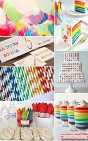 Rainbow Centerpiece Ideas by Love These Rainbow Wands They Can Do Double Duty As Center Pieces