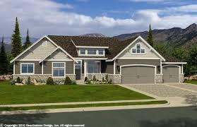Rambler Home Designs Professional House Floor Plans Custom Design - Rambler home designs