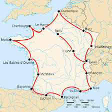 Map Of France Cities by 1926 Tour De France Wikipedia